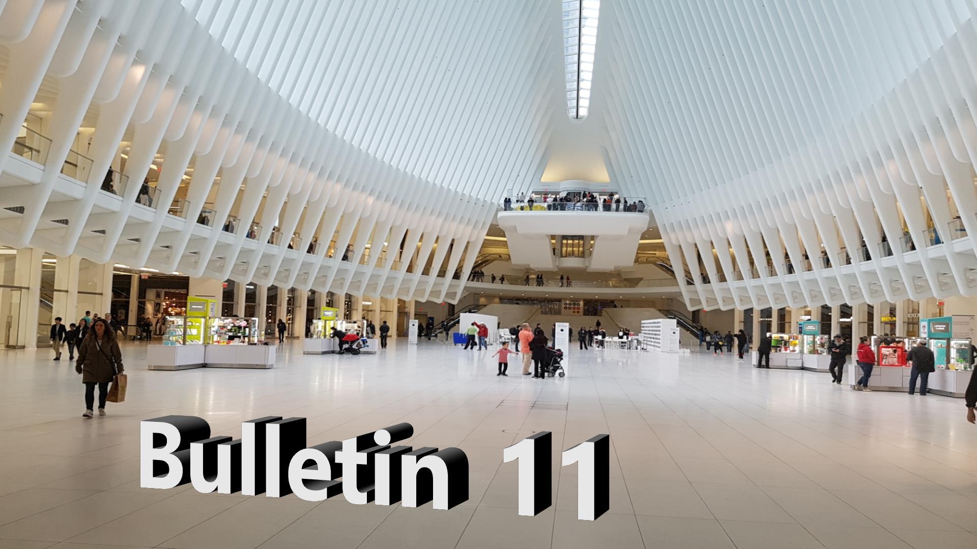 Bulletin 11, May 31