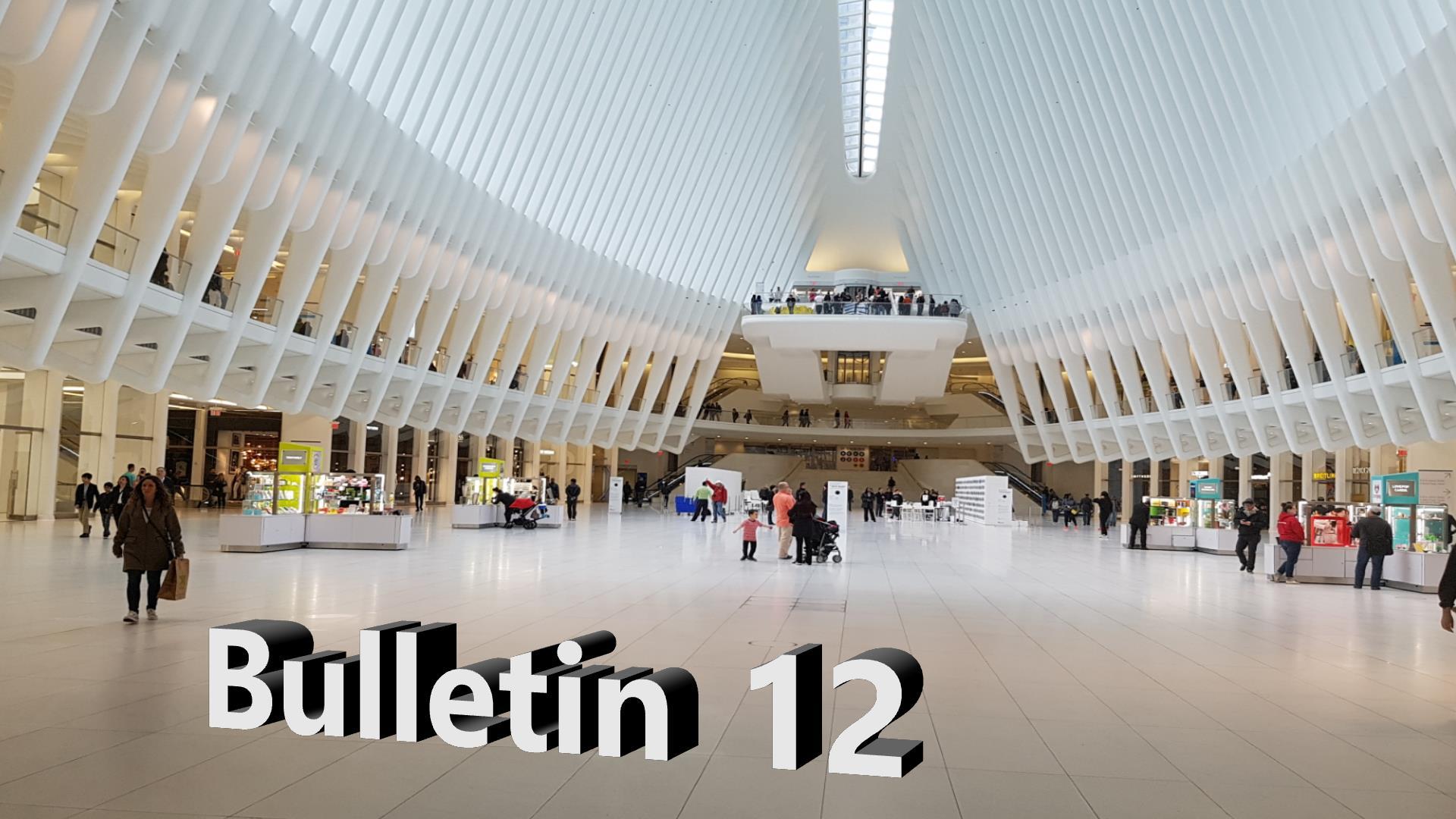 Bulletin 12, June 1