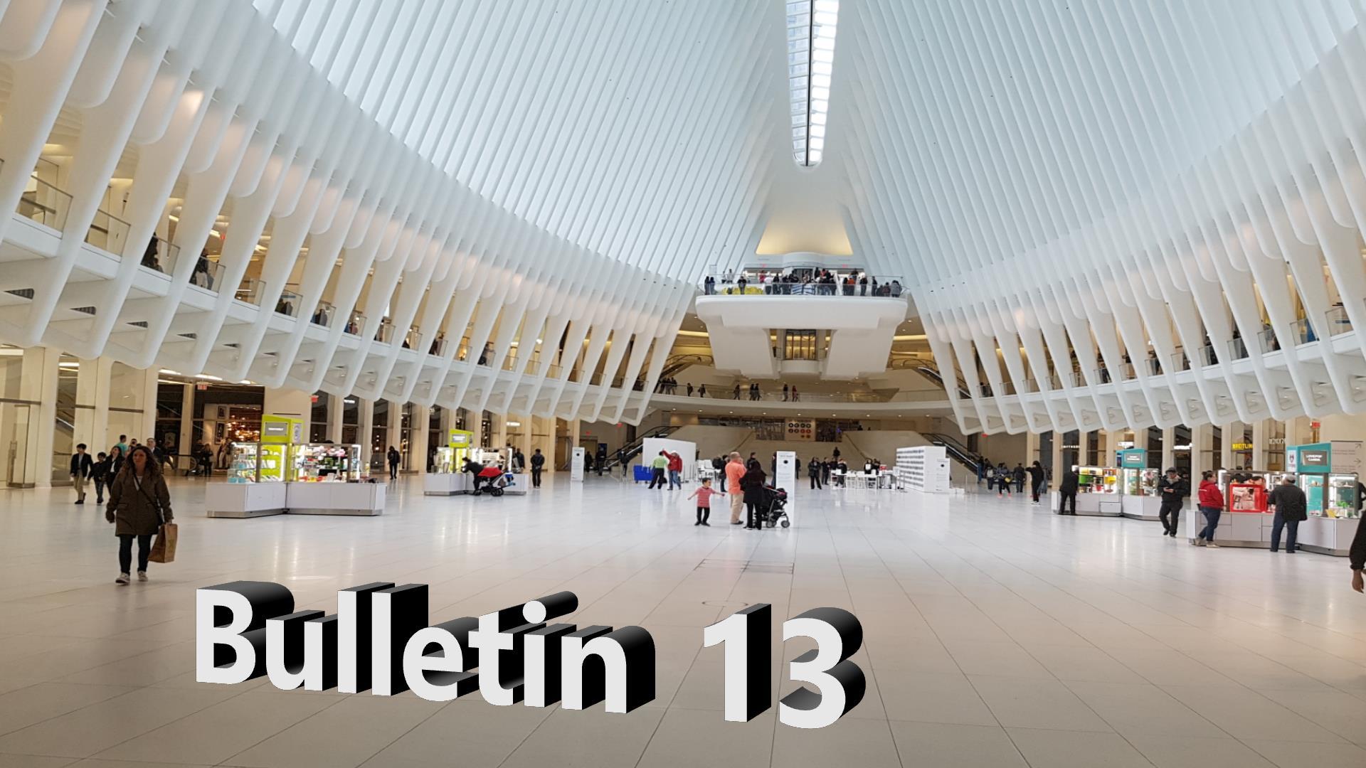 Bulletin 13, June 2