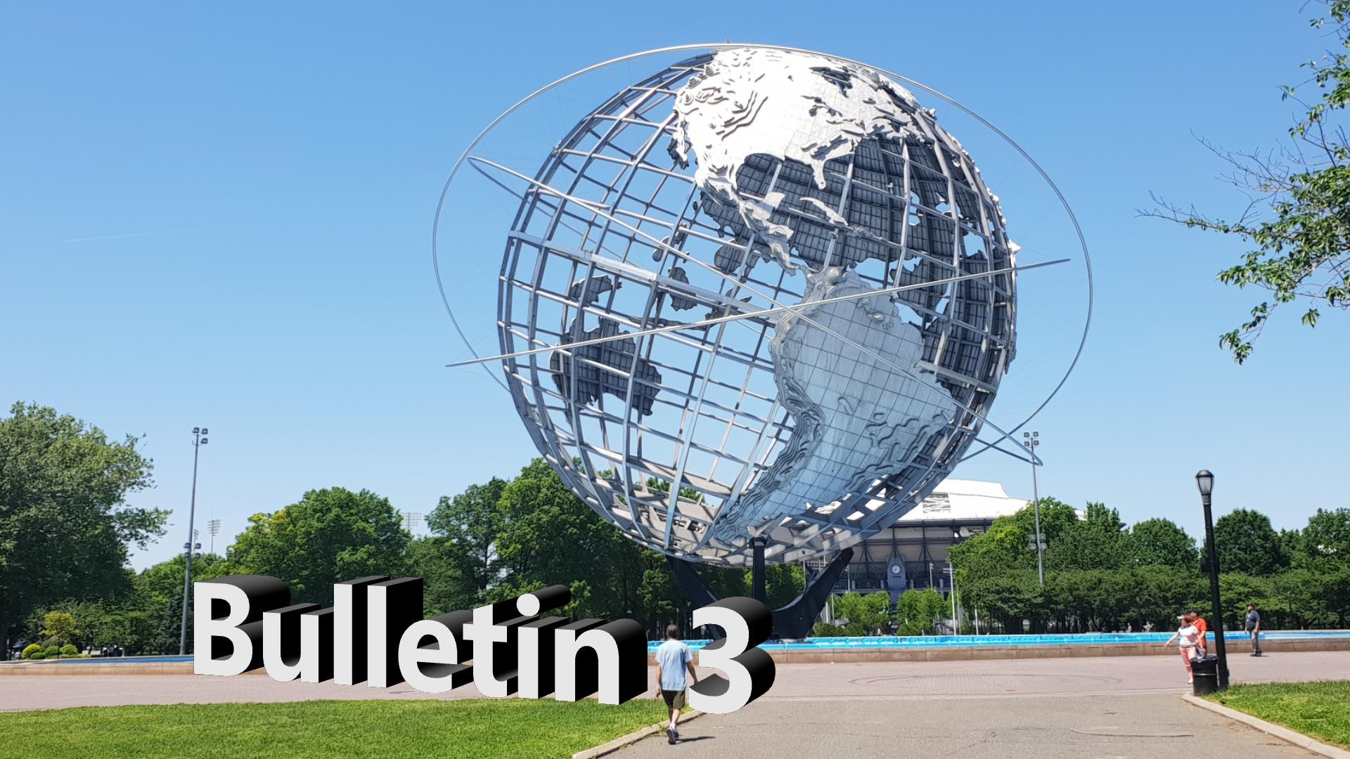 Bulletin 3, May 23