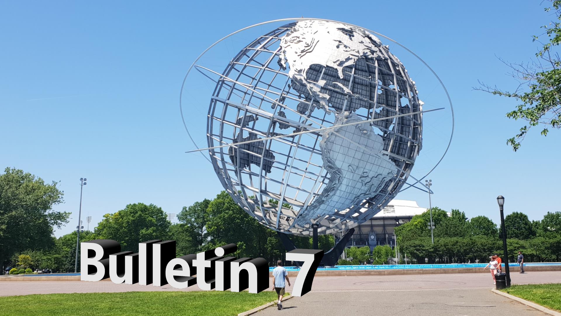 Bulletin 7, May 27