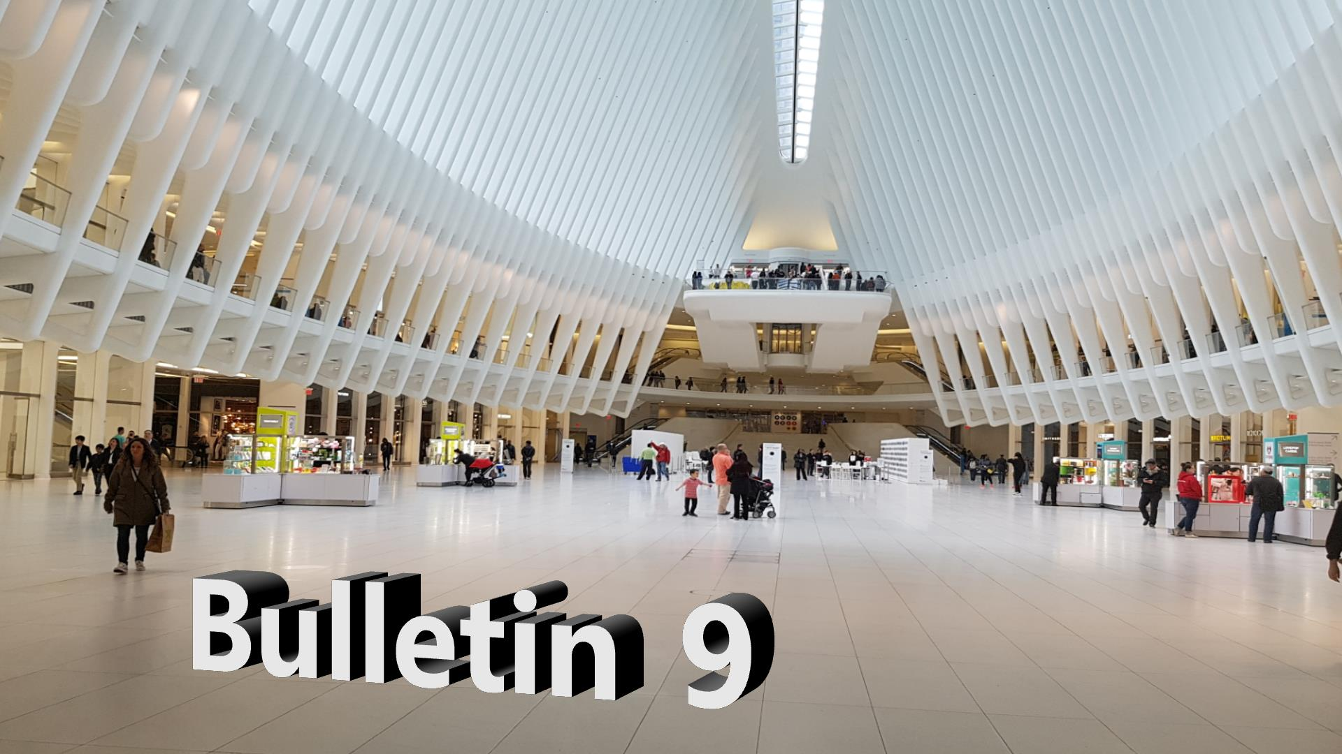 Bulletin 9, May 29