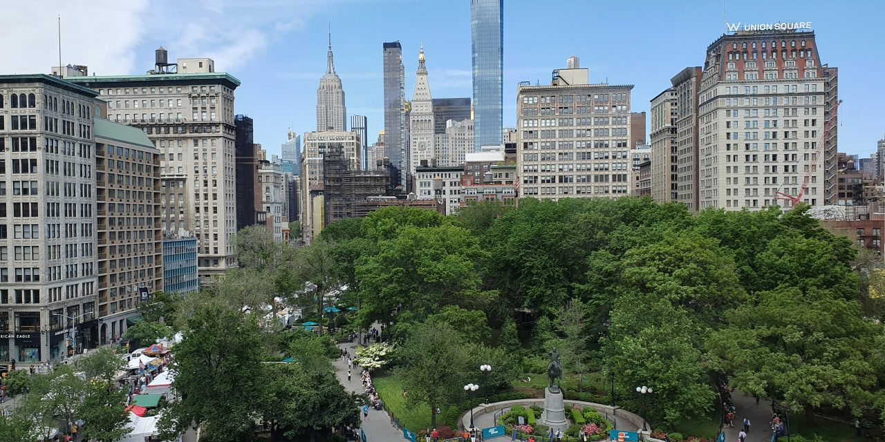 20 times in New York City